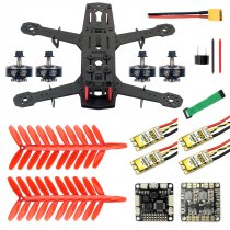 JMT 250 DIY FPV Drone Quadcopter Accessories 250MM Carbon Fiber Frame SP Racing F3 FC Flycolor Raptor BLS Pro-30A ESC 2400KV Motor