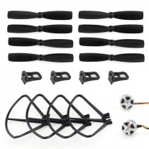 MJX Bugs 3 B3 Mini RC Quadcopter Spare Parts Combo Set 1306 2750KV Brushless Motor CW CCW Propellers & Guard Ring & Landing Gear
