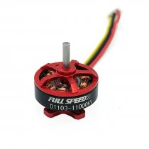 FullSpeed FSD 1103 11000KV Brushless Motors for TinyLeader HD Brushless Whoop FPV Racing Drone Quadcopter