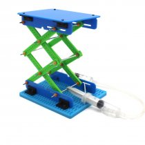 Feichao DIY Toy Model Hydraulic Lifting Platform Kids Toys Scissor Lift Table for Children Science Technology Gift