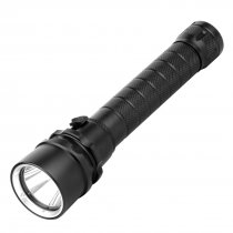 BGNING Aluminum Outdoor Waterproof Flashlight Photography Diving Flashlight Brightness 1000LM RC-M07B