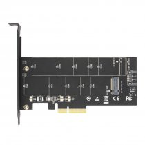 JEYI Add On Cards NVMe to PCIE3.0 X4 M Key Full Speed PCIE NVME Adapter Computer Expansion Cards for 2230-2280 Size M-KEY SSD