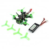 Mantis 85 Micro FPV Racing Drone Mantis85 85mm Quadcopter BNF with Mini FPV Watch Frsky D8 / Flysky 8ch Receiver