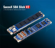 iFlight SucceX 50A V2 Slick 2-6S 32bit BLHeli Dshot1200 Single ESC Narrow Arm Speed Controller for FPV Racing Drone Quadcopter DIY Models