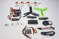 JMT 4-axle GPS Mini Drone Helicopter Parts ARF DIY Kit: GPS APM 2.8 Flight Control EMAX 20A ESC Brushless Motor