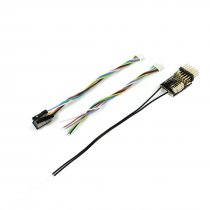 FrSky RX6R 6/16 Telemetry Receiver Designed for Gliders Ultra Small and Super Light 6 PWM Output