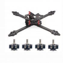 JMT FPV Racing Drone XSR220 220mm Frame Kit With 2306-2400kv 3-4S Brushless Motor for RC Racer Quadcopter DIY Aircraft