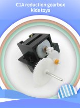 Feichao 4Pcs C1A Reduction Gearbox DIY Technology Small Production Creative Manual Gear Toy Gear Motor