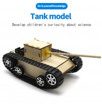 Robot Smart Tank Chassis Diy Kit Fun And Developing  Educational Toy For Kids