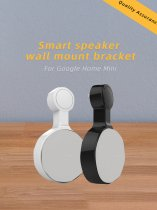 Mingchuan Secure and Stable Outlet Wall Mount Holder for Google Home Mini Smart Home Speakers Perfect Release of Desktop Space Hide Messy Wires Two Colors Optional