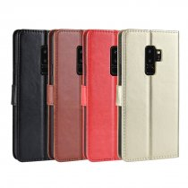 Mobile Phone Case Flip Phone Card Protection Leather Case for Samsung Galaxy S9/ S9 Plus