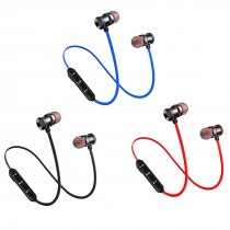 FCLUO XT10 Wireless Bluetooth Headset BT5.0 Sports Waterproof Earphone Magnetic Stereo Earbuds