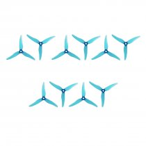 10Pairs Gemfan 51466 5inch 3 blade/ tri-blade Propeller CW CCW Props Compatible Xing 2207 2208 2205-2306 Brushless Motor for FPV RC Racing Drone DIY Quadcopter Kit