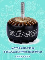 iFlight MOTOR XING X4214 2-8S X CLASS FPV NextGen Motor For DIY Racing Drone Quadcopter