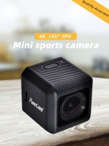 RunCam 5 1080P FPV Camera RunCam5 4K HD Action Cam Video Recording 145 Degree NTSC/PAL 16:9/4:3 Switchable for FPV Quadcopter Drone Racing