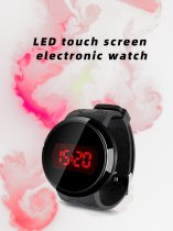 Touch Screen LED Electronic Smart WaterProof Pressure Watch Bands For Man,Women,Boy,Girl,Gift