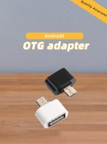 Micro V8 USB OTG Adapter Male to USB 2.0 Female Connector Data Portable OTG Converter for Samsung Android Mobile Phone Adapter
