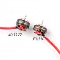 Happymodel EX1103 1103 6000KV 8000KV 12000KV 2-4S Brushless Motor for Sailfly-X Toothpick RC Racing Drone FPV Models