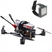 GEPRC PHANTOM Toothpick Freestyle 125mm 2-3S FPV RC Drone Quadcopter BNF with Frsky RX FPV Watch