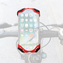 GUB P8 Bicycle Phone Holder Adjustable Flexible Stable Silica Gel Outdoor Bike Mobile Phone Rack Cycling Cellphone GPS Support