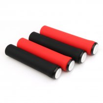 GUB G-601 MTB Commuter Bike Folding Bike Silicone Handle Set Red / Black Anti-skid Shock Absorption