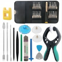 FCLUO ​45 in 1 Mobile Phone Repair Tool Screwdriver Kit Pry Opening DIY Hand Tools Sets for iPhone iPad for Xiaomi Tablet PC Small Toys