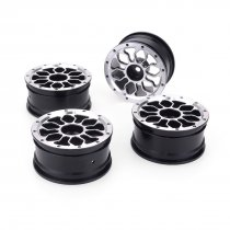 JMT 4pcs 1/10 On-Road Drift Car 52MM Aluminum Alloy Metal Wheel Hub 1.9Inch Climb Car Wheel Rim For HSP Tamiya HPI Kyosho Sakura Version C