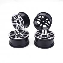 JMT 4pcs 1/10 On-Road Drift Car 52MM Aluminum Alloy Metal Wheel Hub 1.9Inch Climb Car Wheel Rim For HSP Tamiya HPI Kyosho Sakura Version B
