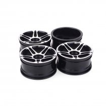 JMT 4pcs 1/10 On-Road Drift Car 52MM Aluminum Alloy Metal Wheel Hub 1.9Inch Climb Car Wheel Rim For HSP Tamiya HPI Kyosho Sakura 103