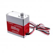 ROBSG RHS8025S 270 Degree Digital RC Servo 25KG Torque Waterproof Metal RC Servo