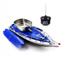 Flytec 2011-3 RC Boat Intelligent Wireless Electric Fishing Bait Remote Control Boat Fish Ship Searchlight Toy Gifts for Kids