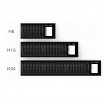 ISDT N8 N16 N24 1.5A Multi-channel LCD AA/AAA Battery Quick Charger for LiIon LiHv Life NiMh Nicd Nizn