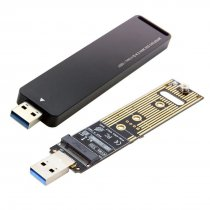 XT-XINTE ​USB 3.1 to Nvme M-key M.2 NGFF SSD External PCBA Conveter Card Adapter Flash Disc Type