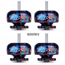 4PCS iFlight XING NANO CAMO X1103 8000KV/10000KV 2-3S FPV NextGen Brushless Motor for FPV CineWhoop Drone CineBee 75HD FPV Racing Quadcopter