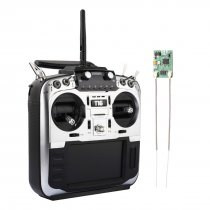 Jumper T16 Pro Hall Gimbal Open Source Built-in Module Multi-protocol Radio Transmitter 2.4G 16CH 4.3 LCD with R1F Receiver