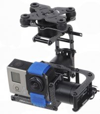 F06918 Carbon 2-Axis Brushless Gimbal Camera Mount W/ 2 Motors Controller for Gopro 2 3 DJI Multicopter FPV