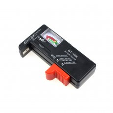 BT-168 Button Checker AKKU Universal Battery Tester for 9V 1.5V and Button Cell AAA AA C D