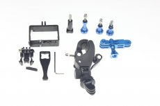 OEM Motor Bike Roll Bar Handbar Thumb Knob Screw Fixed Wrench Pivot Arm Mount Universal Protective Sheel for Gopro