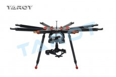 Tarot X8 8 Aixs Umbrella Type Folding Multicopter Uav Octocopter Drone TL8X000 With Retractable Landing Gear