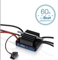 Hobbywing SeaKing V3 Waterproof Speed Controller 60A 2-3S Lipo 6V/2A BEC Brushless ESC for RC Racing Boat
