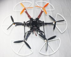 F05114-AO RTF F550 550 mm Hexa-Rotor Air Frame Assembled Kit with Radiolink 6 CH Transmitter Prop Protector