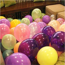 100pcs 1.2g Thick pearl Balloons Wedding Decorate Birthday Party Balloon Toy for Children Random Color