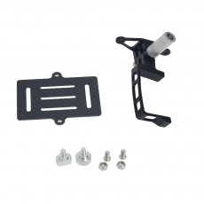 Universal For Gopro Hero 2 3 3+ FPV Carbon Fiber Camera Mount Gimbal PTZ for DJI Phantom Walkera QR X350 Quadcopter