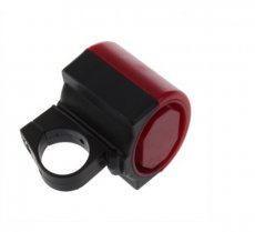 Electronic Cycling Bicycle Bike Alarm Bell Horn Loud Color Red and Black