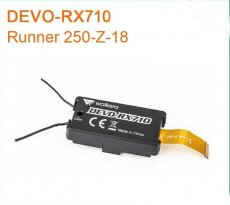Original Walkera Runner 250 2.4G DEVO-RX710 Receiver Runner 250-Z-18