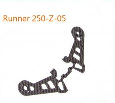 Original Walkera Runner 250 Spare Parts Rear Motor Fixed Plate Runner 250-Z-05 Carbon Fiber Board