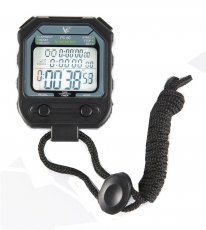 LEAP PC80 Professional Digital Stopwatch Timer Handheld 30 Memory 3 Row Large Display Electronic Pocket Running Timer
