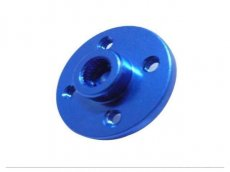 CNC Aluminum Alloy Servo Plate Round Disc Horn 24T Blue Color for HITEC Series