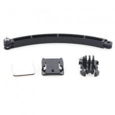OEM Helmet Camera Extention Kit Arm Buckle Curved Mount Holder for Gopro HD Hero 3 2 GITUP GIT1 GIT2