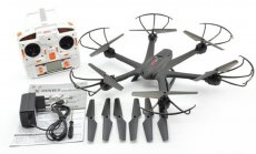 MJX X600 2.4G 6-axis RC Drone Hexacopter UAV Auto Return Headless RTF Helicopter + 1pc Spare Battery (No Camera)
